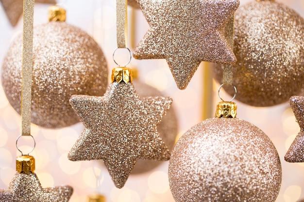 Weihnachten. weihnachtsdekoration und grußkarte. symbol weihnachten.