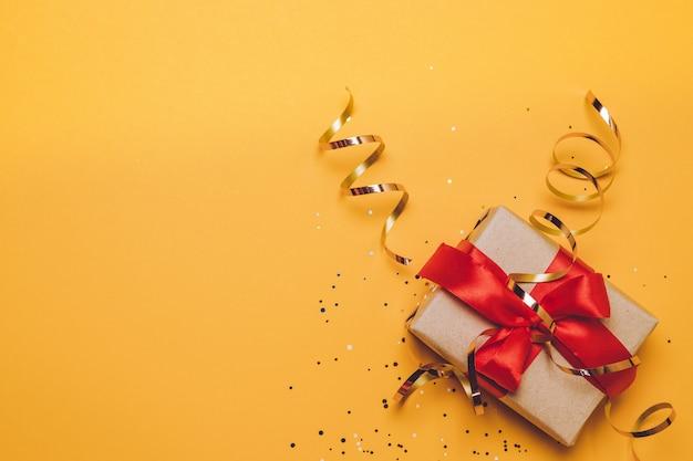 Weihnachten, winter, neujahrskonzept. flache lage, draufsicht, kopienraum