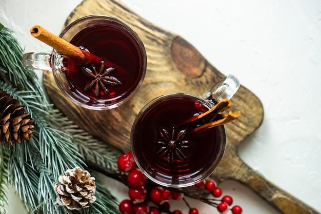 Weihnachtlicher glühwein