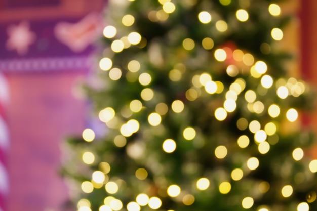 Weihnachts-bokeh-hintergrund