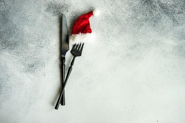 Weihnachts-tablr-einstellung