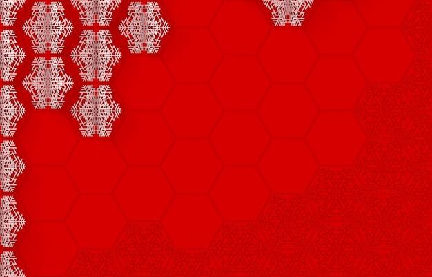 Weihnachts- und des neuen jahresmuster von papierschneeflocken schnitt vom papier