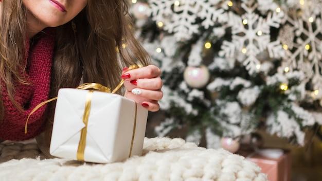 Weihnachts- und geschenkkonzept