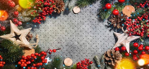 Weihnachts- und neujahrsfeiertagshintergrund