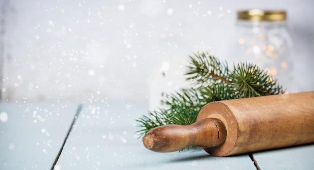 Weihnachtsbacken hintergrund