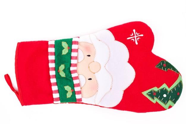 Weihnachtsbackofen-schutzhandschuh.