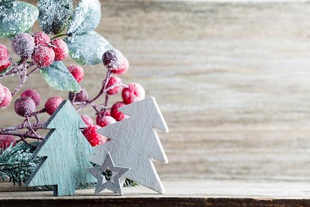 Weihnachtsbaum, grußkarte. dekoration.