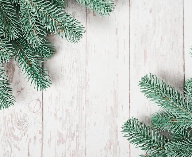 Weihnachtsbaum hintergrund. frohes neues jahr grußkarte.