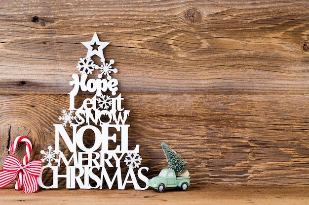 Weihnachtsbaum, noel wunsch, fichte der buchstaben.