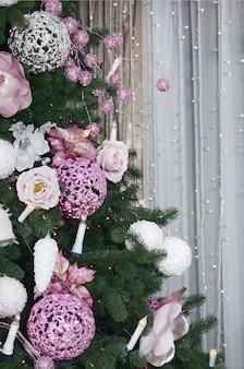 Weihnachtsbaumabschluß oben verzieren