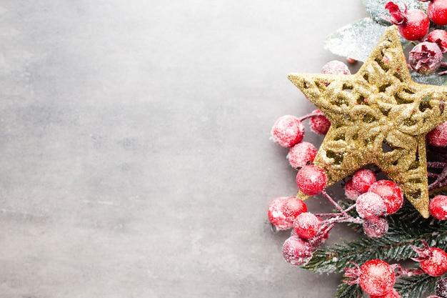 Weihnachtsbaumdekoration hintergrund.
