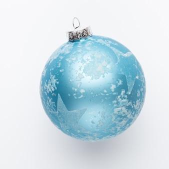 Weihnachtsdekor nahaufnahme auf einem weißen hintergrund. isoliert - bild