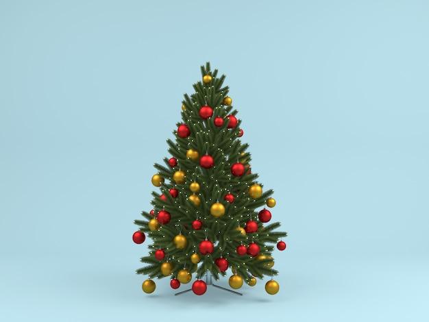 Weihnachtsdekoration in der pastellhintergrundschablone