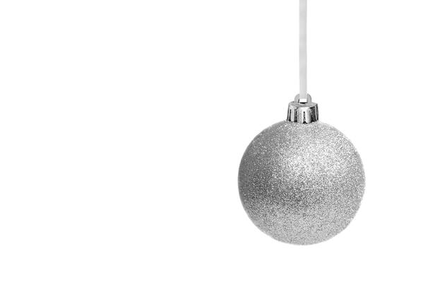 Weihnachtsdekoration lokalisiert auf weiß