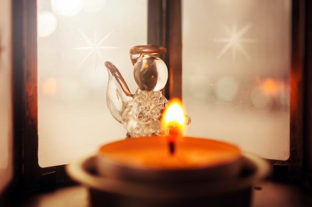 Weihnachtsdekoration mit engel