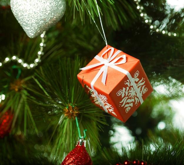 Weihnachtsdekoration. studioaufnahme.