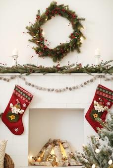 Weihnachtsdekoration zu hause