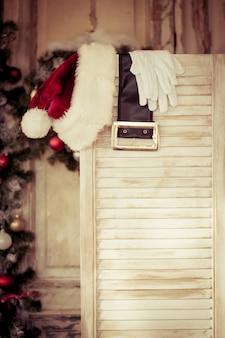 Weihnachtsdekorationen. weihnachtsferienkonzept