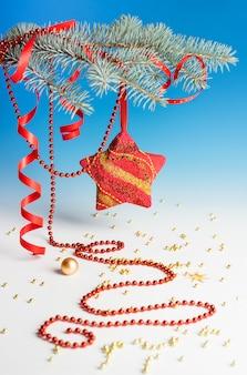 Weihnachtsdekorationen Premium Fotos