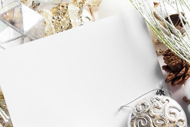Weihnachtsferien ornament hintergrund