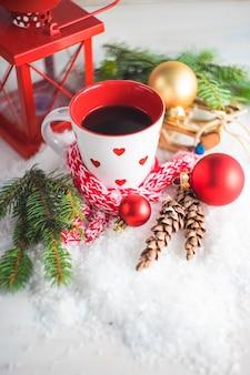 Weihnachtsferien zusammensetzung