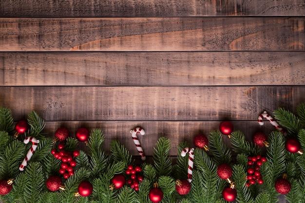 Weihnachtsfichtenzweige