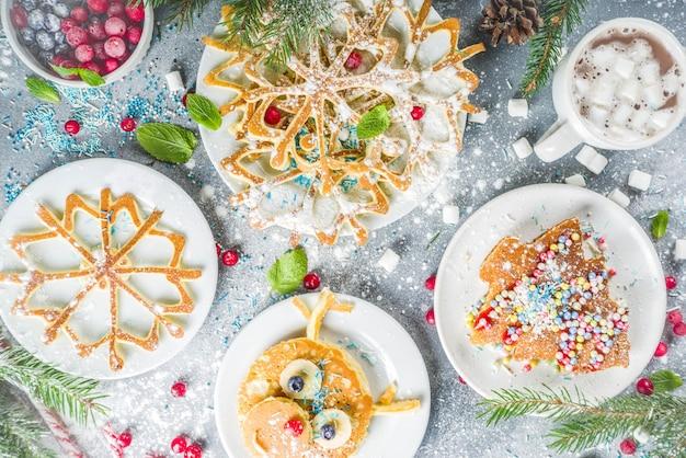 Weihnachtsfrühstückspfannkuchen eingestellt