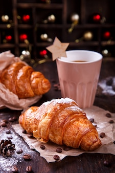 Weihnachtsgebäck croissant