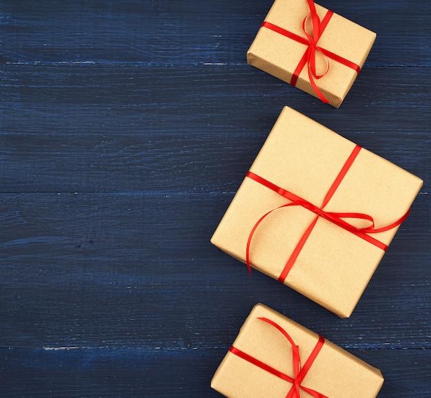 Weihnachtsgeschenk-box. öko-handwerk verpackung