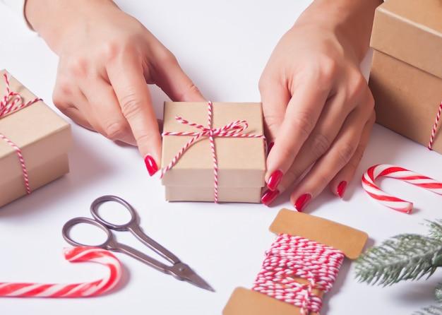 Weihnachtsgeschenk dekoration.