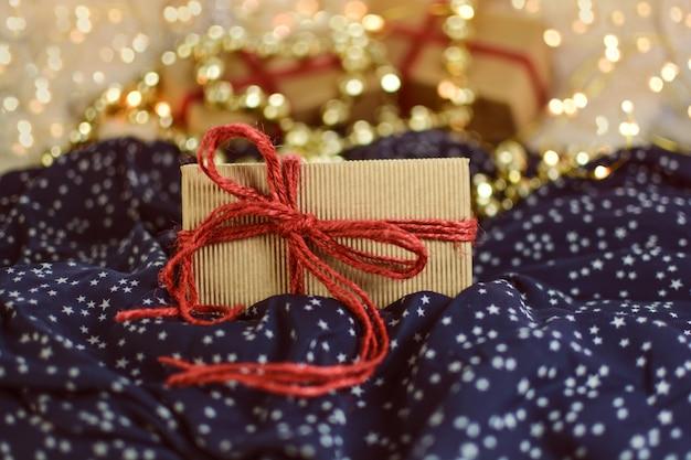 Weihnachtsgeschenk im kasten