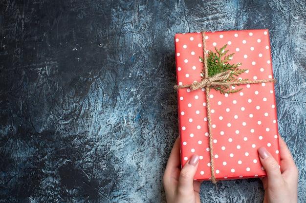Weihnachtsgeschenk von oben