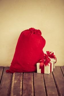 Weihnachtsgeschenkbox. weihnachtsferienkonzept