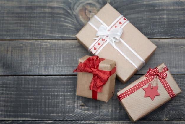 Weihnachtsgeschenke in magischer zeit