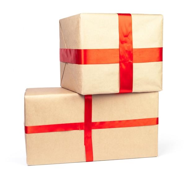 Weihnachtsgeschenke isoliert