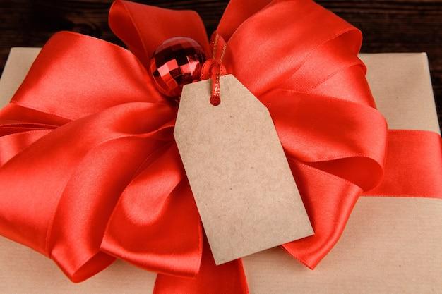 Weihnachtsgeschenkkarte modell.