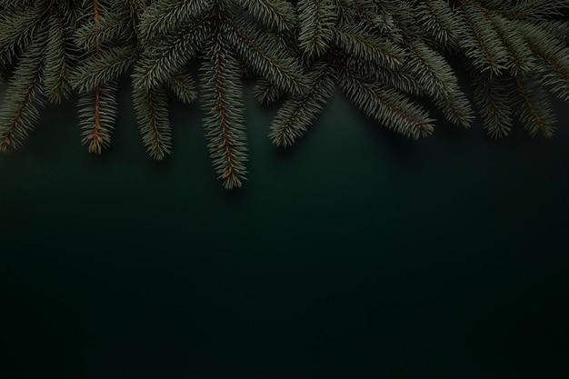 Weihnachtsgrüner hintergrund