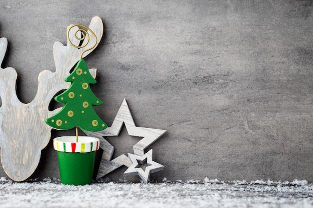 Weihnachtshintergrund, grußkarte. dekoration.