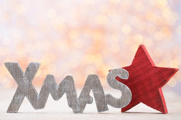 Weihnachtshintergrund, grußkarte. weihnachtsdekoration.