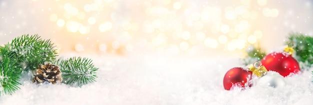 Weihnachtshintergrund und schönes dekor.