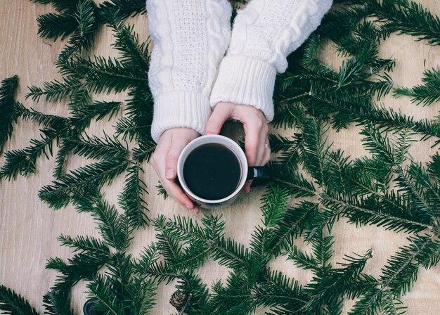 Weihnachtshintergrund und -tapete