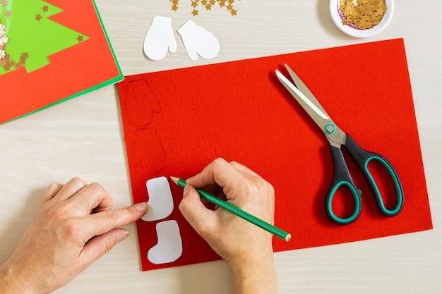 Weihnachtskarte machen
