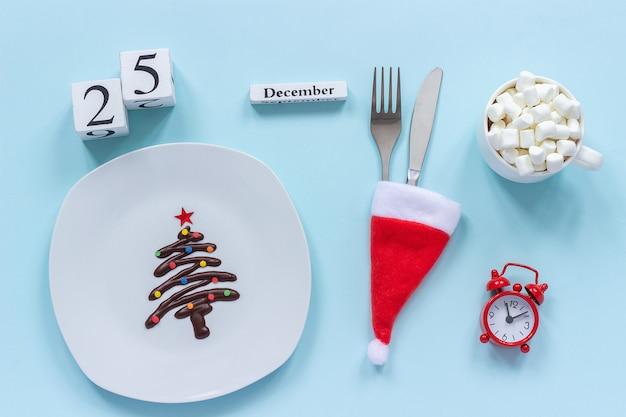 Weihnachtskomposition kalender