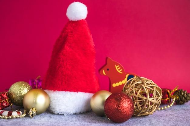 Weihnachtskonzept mit hut