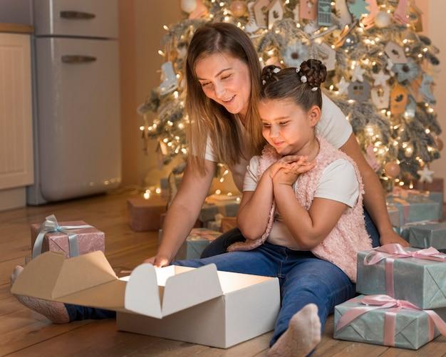 Weihnachtskonzept mit kopierraum
