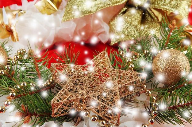 Weihnachtskranz hautnah