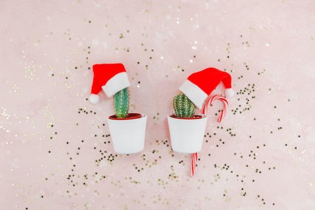 Weihnachtskreative komposition