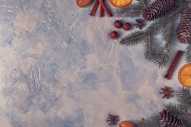 Weihnachtslichtsteinhintergrund