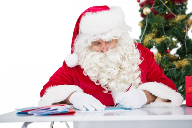 Weihnachtsmann briefe schreiben