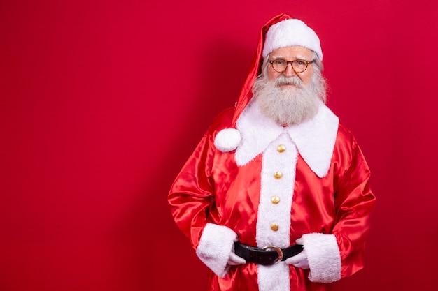 Weihnachtsmann. heilig abend. geschenklieferung. verzauberte kinderträume.
